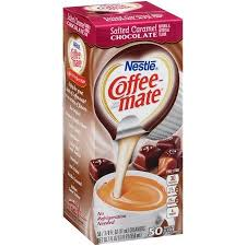 Nestle Coffee Mate Salted Caramel Chocolate Liquid Creamer 50 0375 Fl Oz