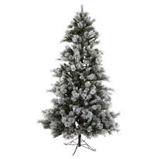 Hobby Lobby Pre Lit Led Christmas Trees by Get 7 5 U0027 Flocked Fast Shape Tree With Led Lights Online Or Find