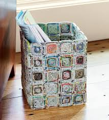 Easy Recycled Paper Crafts Newspaper