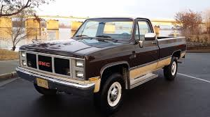 85 GMC 2500 4x4 70,991 Thousand Original Miles One Owner Vary Vary ...