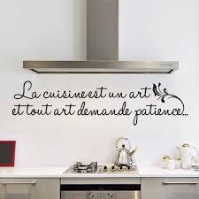 cuisine et citation sticker alu protection cuisine top beautiful simple vaisselier en