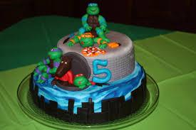 Ninja Turtle Decorations Ideas by Sweet Melissa U0027s Cakery Teenage Mutant Ninja Turtles Birthday Cake
