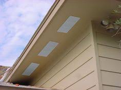 no pest vent 4 in dual door soffit eave vent in white doors and ps