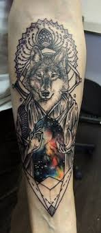 Sick Ass Wolf Tattoo