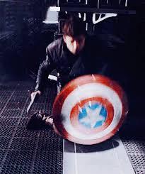 Captain America Guns GIF