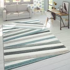 tapijten hochflor wohnzimmer teppich shaggy konturenschnitt