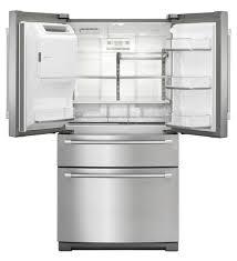 réfrigérateur congélateur résidentiel américain en inox avec