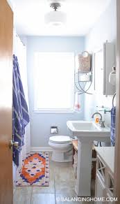 Small Bathroom Ideas: Clever Organizing And Design Ideas - Balancing ... Bathroom Design Ideas Beautiful Restoration Hdware Pedestal Sink English Country Idea Wythe Blue Walls With White Beach Themed Small Featured 21 Best Of Azunselrealtycom Simple Designs With Bathtub Tiny 24 Sinks Trends Premium Image 18179 From Post In The Retro Chic Top 51 Marvelous Pictures Home Decoration Hgtv Lowes Depot Modern Vessel Faucet Astounding Very Photo Corner Bathroom Sink Remodel Pedestal Design Ideas
