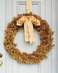 Martha Stewart Pre Lit Christmas Tree Instructions by Holiday Wreaths Martha Stewart