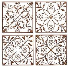 Spanish Iron Wall Decor Magnificent Outdoor Wrought Ideas Lildago Inspiration Design