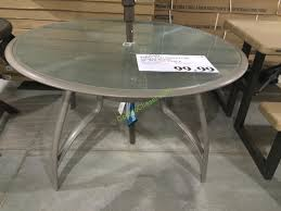 Kirklands Outdoor Patio Furniture by Kirkland Signature Commercial 50 U201d Round Table U2013 Costcochaser