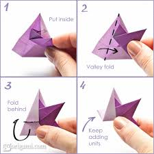 You Can Also Try A Curled Variation Of This Star Gently Pull The Layers Paper In Center From Underneath And Curl Them With Wooden Skewer Or