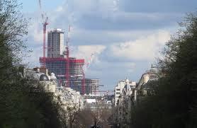 conforama place de clichy les tours duo prêtes à gratter le ciel de le parisien