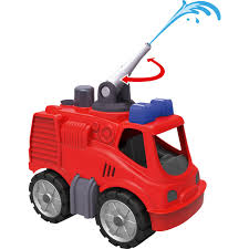 BIG Power-Worker-Mini Fire Truck, Toy Vehicle Black, Red, Truck, 2 ...
