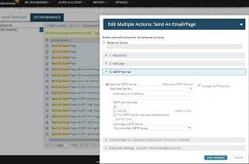 Change The SMTP Server On Alert Actions In Bulk - SolarWinds ... Resource Center Solarwinds Cfiguracion De Ip Sla Youtube Pci Dss Compliance Tools Management Software For It Inventory Hdware Migrated Report Writer Reports Missing From The Orion Web Console Solarwinds Vs Nagios Bandwidth Network Monitoring Review Netflow Traffic Analyzer 3100 Servicenow Integration Npm Sam Manage Change And Avoid Costly Errors With Address Sevone Performance Monitors Compared