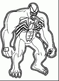 Impressive Marvel Venom Coloring Pages