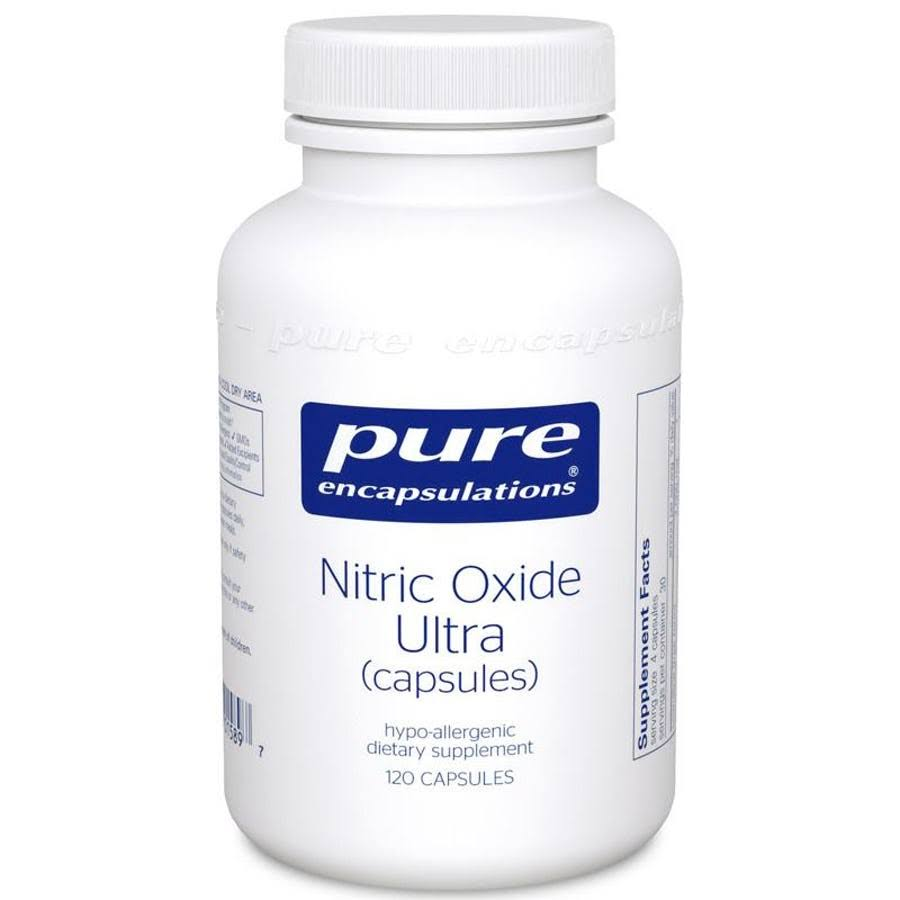 Pure Encapsulations Nitric Oxide Ultra Supplement - 120 Capsules