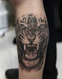 Wild Cat Lover Tattoos African WIld Animal