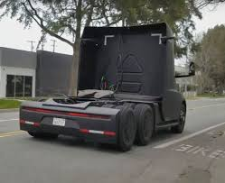 100 Semi Truck Mirrors Tesla Prototype Spotted Driving In The Wild In Great New