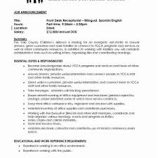 Sales Clerk Cover Letter New Front Desk Beautiful Sample Resume