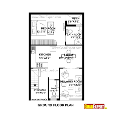 House Plan For 22 Feet By 35 Feet Plot Plot Size 86 Square