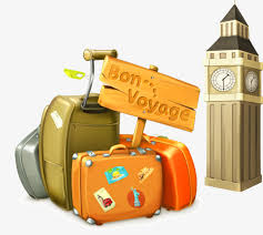 Belfry Travel Bag Vector Material PNG And