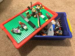 lego makes traveling fun how to make a lego travel box sippy