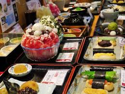 cuisine soldee typical japanese food sold in nishiki market gion shijo picture