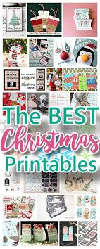 The BEST Christmas And Holiday FREE Printables
