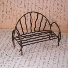 This Is The Perfect Bench For Your Miniature Fairy Garden Doll House Or Display