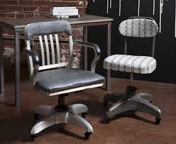 Vintage Industrial Office Chairs