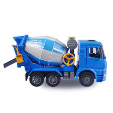 100 Toy Cement Truck 120 Scale Engineering Mixer Model ABS Plastic