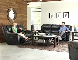 black microfiber reclining sofa and loveseat leather living room