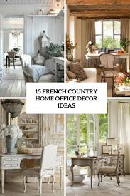 15 French Country Home fice Décor Ideas Shelterness