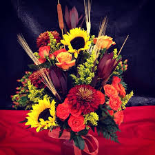 Fall Flowers Made At The Tinker AFB Flower Shop