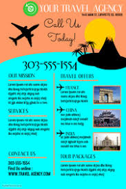 Customizable Design Templates For Travel Agency