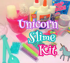 Make Your Own Unicorn Slime Comes With So Much Plus Extras