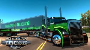 100 American Trucking Simulator Kenworth W900 Custom The Phantom Truck The