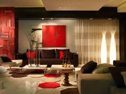 Red And Black Living Room Decorating Ideas by Black Red And Brown Living Room Home Decorating Interior Design