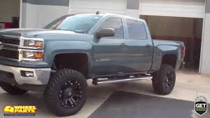 2014 CHEVY SILVERADO 1500 LTZ BUILT OUT BY 4 WHEEL PARTS TAMPA ...