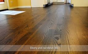 thinking of staining your hardwood floors a dark color