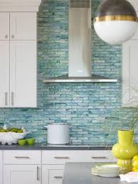 decoration ideas blue glass tile backsplash sea blue glass tile