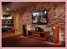 Led Tv Background Wall Design Ideas 2016 Brick Panels Interior