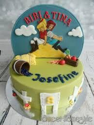bibi und tina torte bibi blocksberg cake by sweet