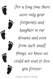 104 Small Footprint Family Baby Quotes And Art For Beautiful And Unique Keepsakes