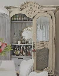 Shabby Chic Dining Room Hutch by Best 25 White China Cabinets Ideas On Pinterest China Cabinet