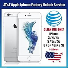 Amazon AT&T USA Factory Unlocking Service for All iPhone 6S