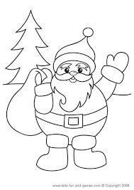 Printable Christmas Coloring Pages Kids