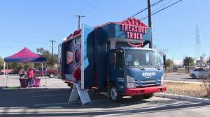 Amazon's Treasure Truck Offers Impromptu Deals Pilot Flying J Travel Centers Road Randoms 12 Rays Truck Photos Gateway Stop Youtube Tmc Transportation Des Moines Ia Roughly 72 Percent Of San Antonio Gas Stations Out Fuel As Panic I 80 Chrome Shop Travelcenters America Ta Stock Price Financials And News Spent 21 Hours At A Vice Tx Best 2018 Trucker Rudi Lets Look 3 Big Truck Stops In Laredo Texas 0301 Gemini Motor Transportloves Stops 365 Days Tacos Cocula Jalisco Mexican Restaurant