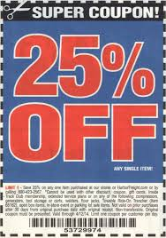25 Off Harbor Freight Coupon – COUPON
